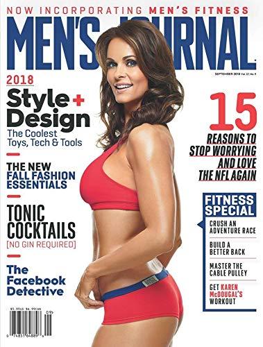Karon McDougal Men's Journal 2018 Cover, Men's Health Journal